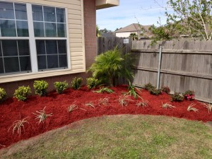 Flower Bed Maintenance in the River Parishes of Louisiana